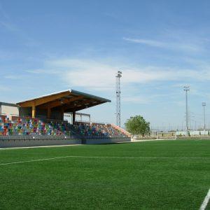 construcción campos fútbol césped artificial Verdepadel