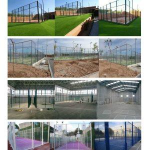Construction de Courts de Padel