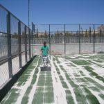 mantenimiento pistas de pádel