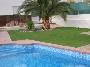 césped artificial terrazas jardines Verdepadel